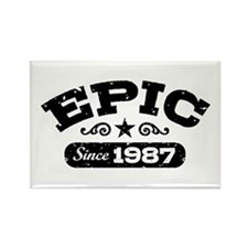 Epic Since 1987 Rectangle Magnet