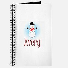 Snowman - Avery Journal