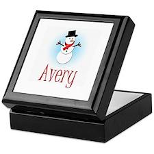 Snowman - Avery Keepsake Box