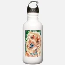 Golden Cocker Spaniel - Water Bottle