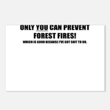 ONLY YOU CAN PREVENT FOREST FIRES Postcards (Packa