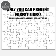ONLY YOU CAN PREVENT FOREST FIRES Puzzle