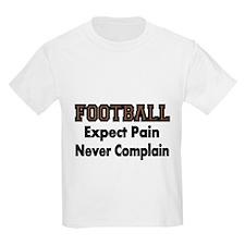 FOOTBALL Expect Pain T-Shirt