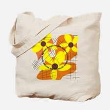 Retired Nurse YELLOW FLOWERS PILLOW Tote Bag