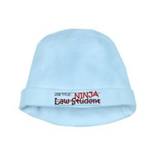 Job Ninja Law Student baby hat
