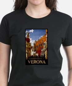 Vintage Verona Italy Travel T-Shirt
