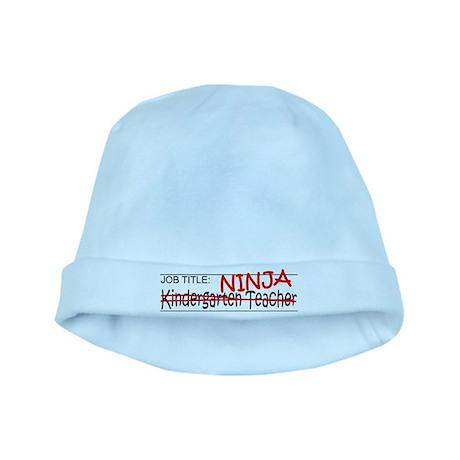 Job Ninja Kindergarten baby hat