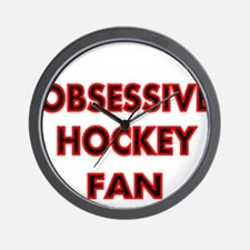 OBSESSIVE HOCKEY FAN 2 Wall Clock