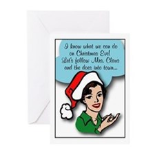 Retro Adult Greeting Cards (Pk of 10)