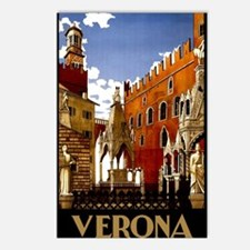 Vintage Verona Italy Travel Postcards (Package of