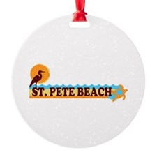 St. Pete Beach - Beach Design. Ornament
