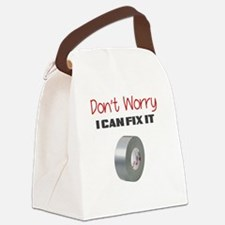 DONT WORRY I CAN FIX IT Canvas Lunch Bag