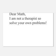 DEAR MATH Postcards (Package of 8)