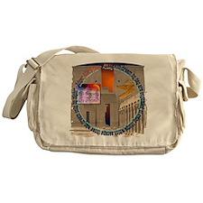 Full Logo Messenger Bag