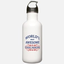 World's Most Awesome School Principal Water Bottle