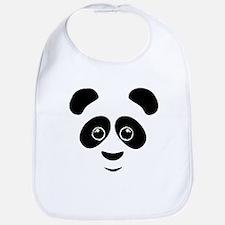 Panda Face Bib