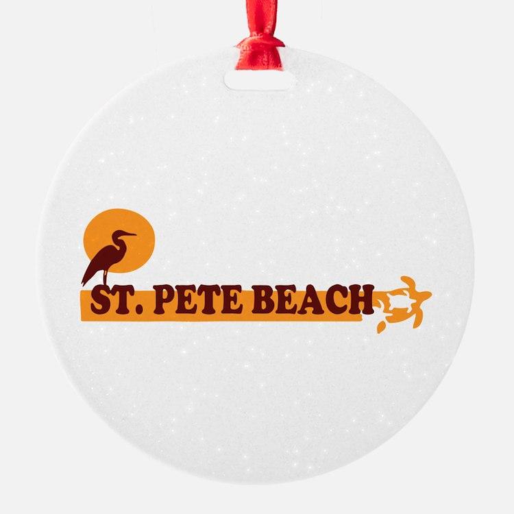 St. Pete Beach - Beach Design. Ornament
