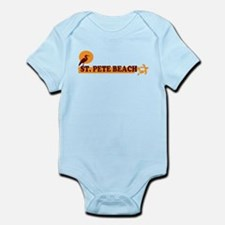 St. Pete Beach - Beach Design. Infant Bodysuit