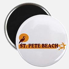 St. Pete Beach - Beach Design. Magnet