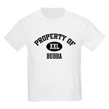 Property of Bubba Kids T-Shirt