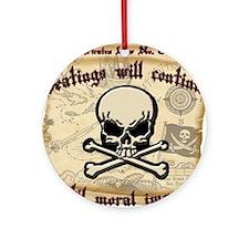 Pirates Law #8 Ornament (Round)