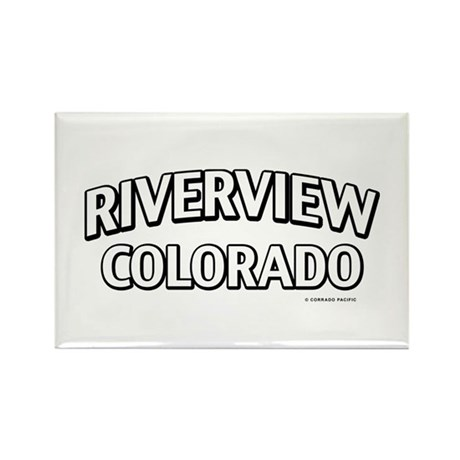 Riverview Colorado Rectangle Magnet