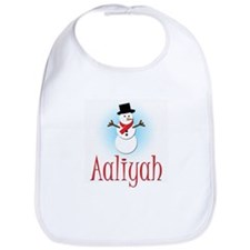 Snowman - Aaliyah Bib