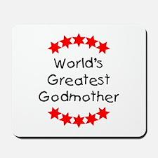 World's Greatest Godmother Mousepad