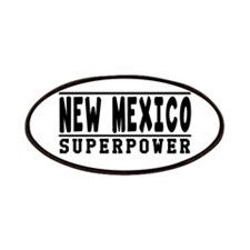 New Mexico Superpower Designs Patches