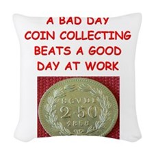 coin coins numismatist collector collecting Woven