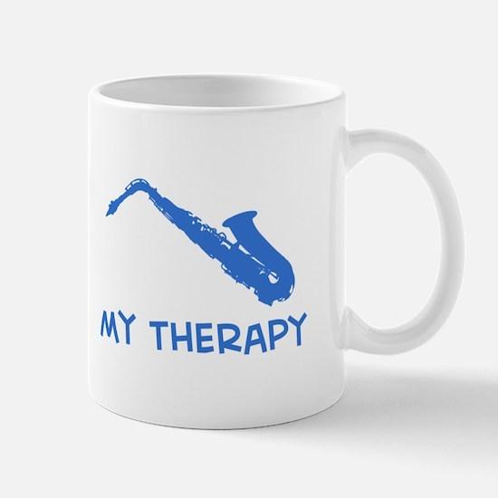 Saxophone my therapy Mug