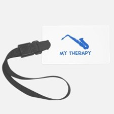 Saxophone my therapy Luggage Tag