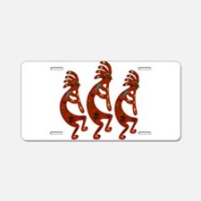 Lizard Kokopelli Aluminum License Plate