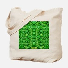 Royal Hawaiian Palms Print Tote Bag