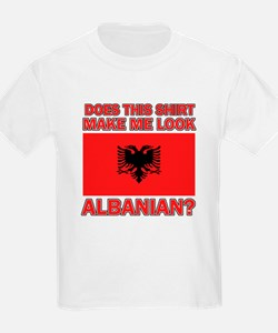 Albanian Flag Designs T-Shirt