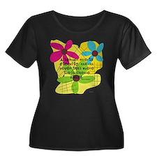 A teacher affects eternity PILLOW Plus Size T-Shir