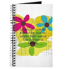 A teacher affects eternity PILLOW Journal
