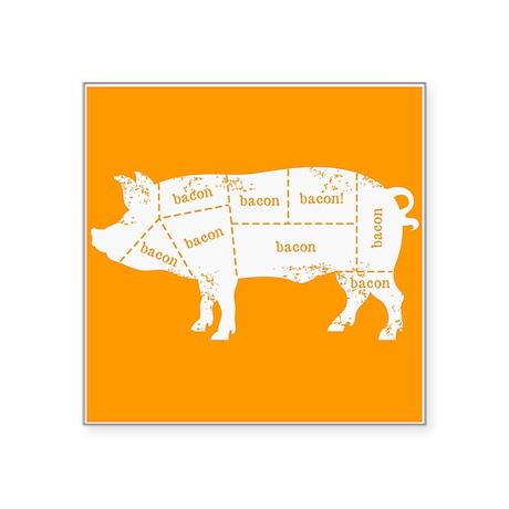 Bacon Pig Sticker