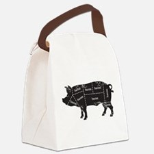 Bacon Pig Canvas Lunch Bag