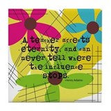 A teacher affects eternity Drink Coasters