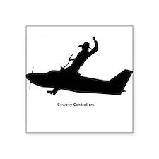 Air Traffic Cowboy Phraseology Sticker