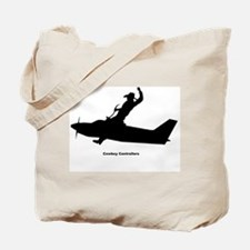 Air Traffic Cowboy Phraseology Tote Bag