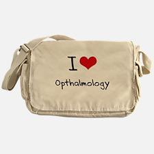 I Love Opthalmology Messenger Bag