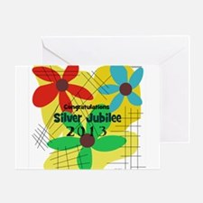Silver Jubilee CP Greeting Card
