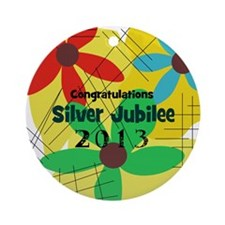 Silver Jubilee CP Ornament (Round)