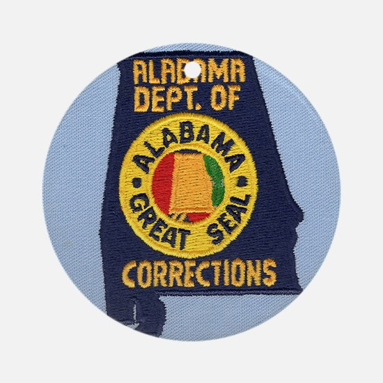 Alabama Corrections Ornament (Round)