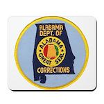 Alabama Corrections Mousepad