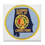 Alabama Corrections Tile Coaster