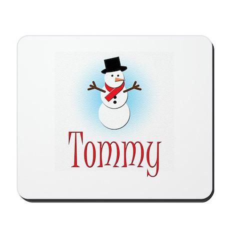 Snowman - Tommy Mousepad