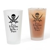 Pirate Pint Glasses